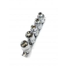 Набор головок 3-гр.  для  топливных насосов диз. двигател VAG TDI  М5-М12  АД 39970