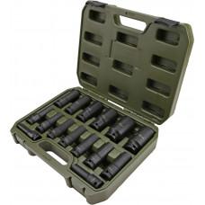 """Набор  головок ударных высоких  1/2""""  6гр. 10-32 мм.  15пр.  ДТ 660415"""