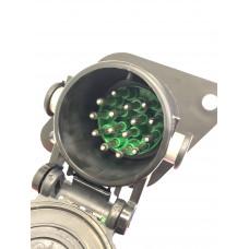 Разъём кабеля ABS 15 контактный , вилка  ALSA  03RF0708