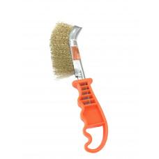 Щетка  металлическая   пластиковая ручка   ТЕХМАШ 44011, 11379, 131727  1/12шт./240шт