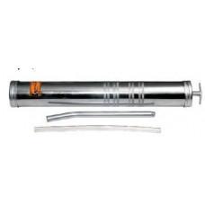 Шприц  маслозаливной  металл  1000 мл.  гибкий шланг  АД  42026