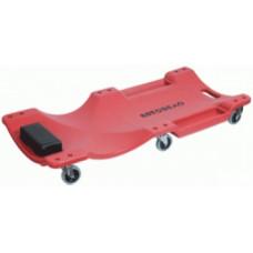 Лежак ремонтный пластиковый  1004*470*125 мм.   АД 43000