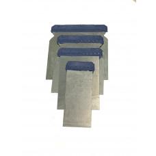 Набор шпателей стальных (50-75-100-120мм .) 4шт АД 13921,  852605 (1/20)
