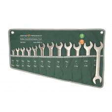 Набор рожковых  дюймовых  ключей 12пр. сумка   ДТ 510892
