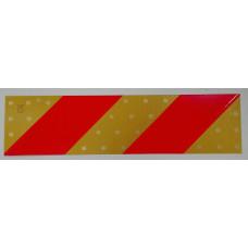 Табличка  светоотражающая 14\55 Е-37 (2шт) (зебра с накл)