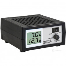 Зарядное устройство  ВЫМПЕЛ- 27  (  0,6-7 А ,12 В, сегментный ЖК дисплей ,)  2045